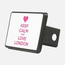 Keep calm and love london Hitch Cover