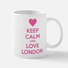 Keep calm and love london Mug