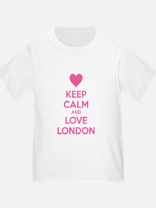 Keep calm and love london T