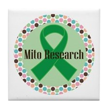 Mito Research Ribbon Tile Coaster