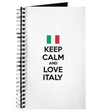 Keep calm and love Italy Journal