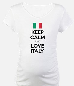 Keep calm and love Italy Shirt