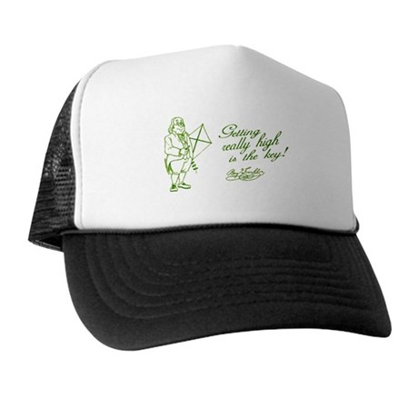 Ben Franklin Secret Trucker Hat