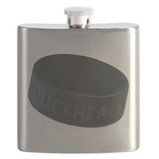 Hockey Puckhead Flask