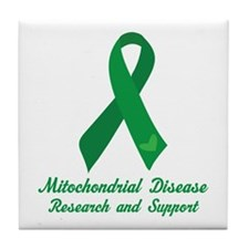 Mitochondrial Disease Support Tile Coaster