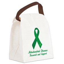 Mitochondrial Disease Support Canvas Lunch Bag