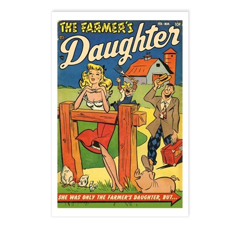 'Farmer's Daughter Comics #1 Postcards (Package of