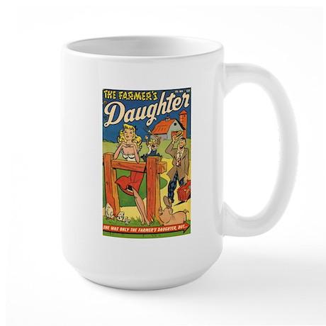'Farmer's Daughter Comics #1 Large Mug
