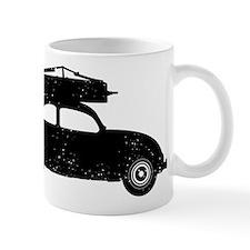 Double Bass On Car Mug
