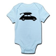 Double Bass On Car Infant Bodysuit