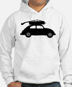 Double Bass On Car Hoodie