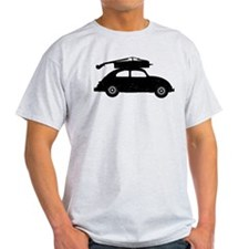 Double Bass On Car T-Shirt