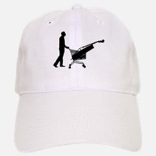 Double Bass Shopper Baseball Baseball Cap