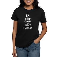 Keep calm and love turkey Tee