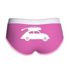 Double Bass On Car Women's Boy Brief