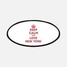 Keep calm and love New York Patches