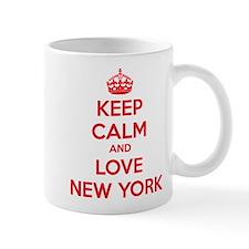 Keep calm and love New York Mug