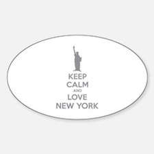 Keep calm and love New York Decal
