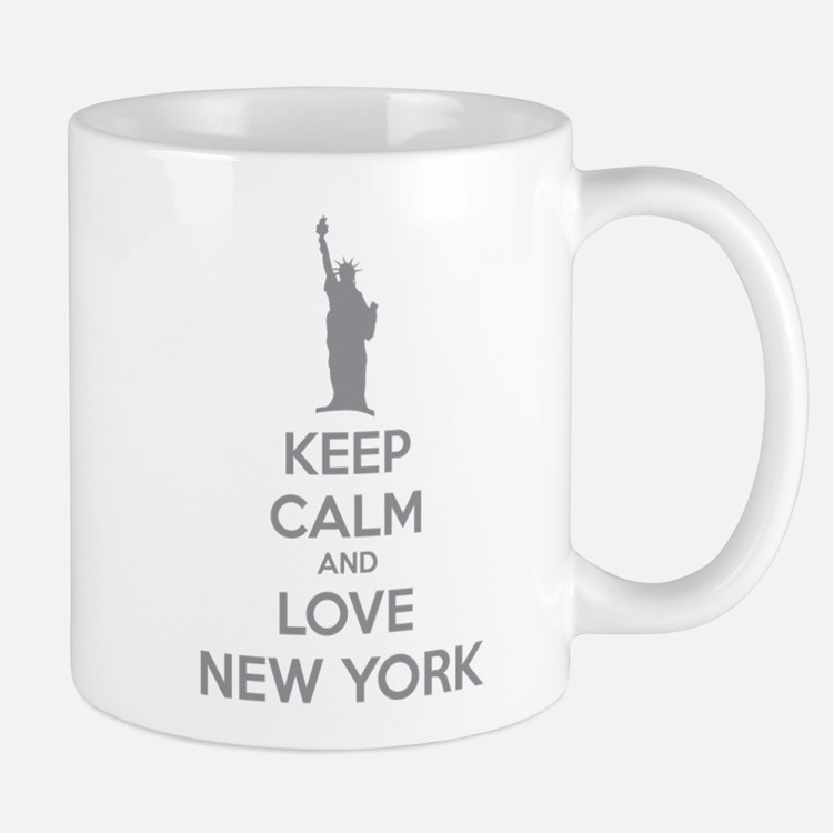 Keep calm and love New York Mug