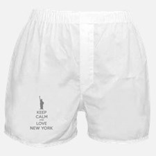 Keep calm and love New York Boxer Shorts