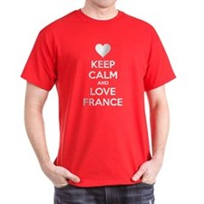 Keep calm and love France T-Shirt