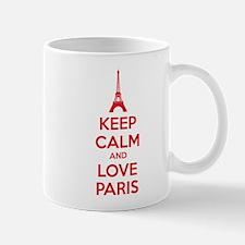 Keep calm and love Paris Mug