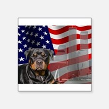 Rotties were there! Rectangle Sticker