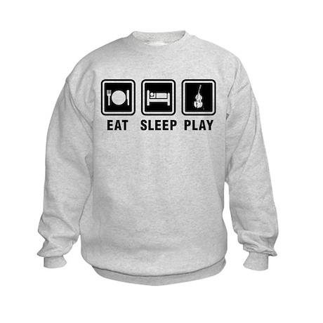 Eat Sleep Play Kids Sweatshirt