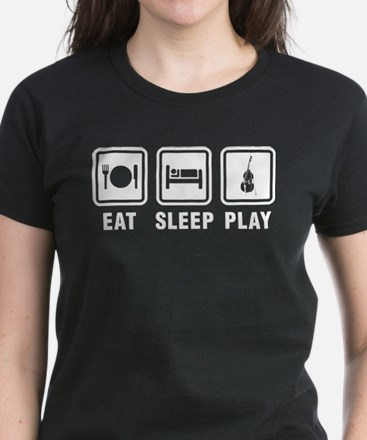 Eat Sleep Play Women's Dark T-Shirt