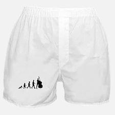 Double Bassist Evolution Boxer Shorts
