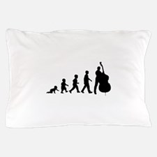 Double Bassist Evolution Pillow Case