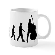 Double Bassist Evolution Mug