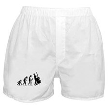 Double Bassist Evolution Boxer Shorts