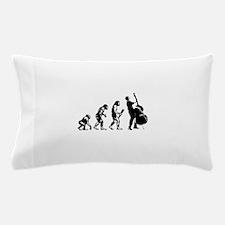 Double Bassist Evolution Pillow Case