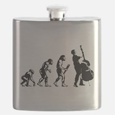 Double Bassist Evolution Flask
