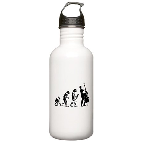 Double Bassist Evolution Stainless Water Bottle 1.