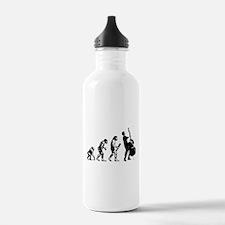 Double Bassist Evolution Water Bottle