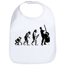 Double Bassist Evolution Bib