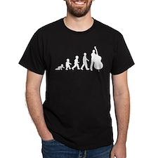 Double Bassist Evolution T-Shirt