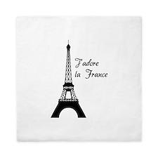 J'adore la France Queen Duvet