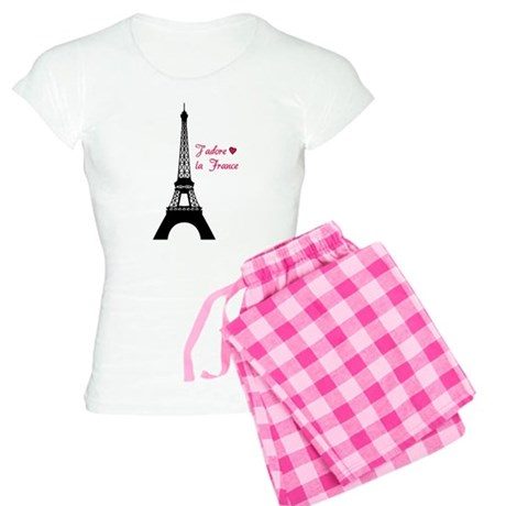 J'adore la France Women's Light Pajamas