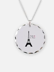 J'adore la France Necklace