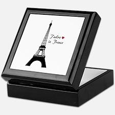 J'adore la France Keepsake Box