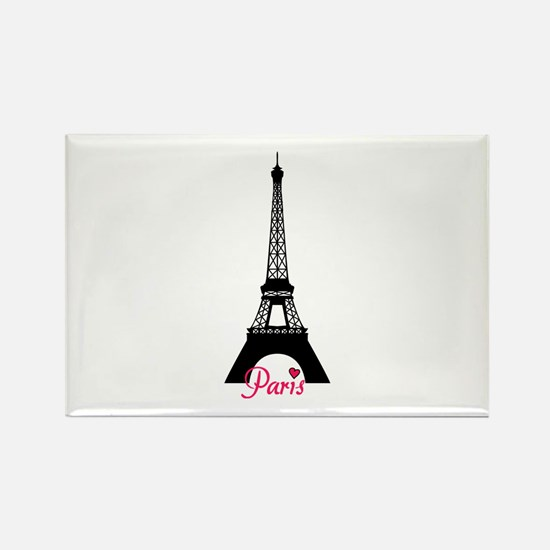 J'adore la France Rectangle Magnet
