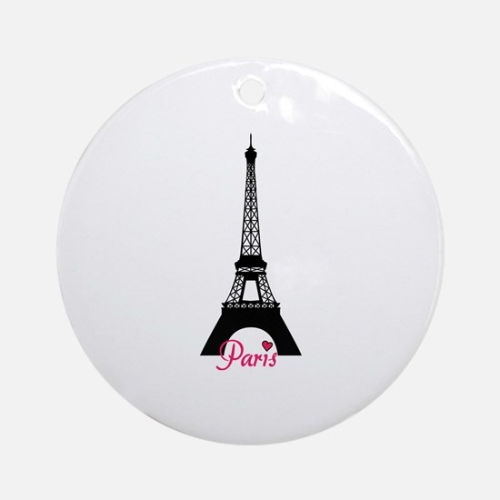 J'adore la France Ornament (Round)