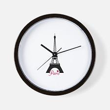 J'adore la France Wall Clock