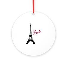 Paris Ornament (Round)