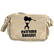 Extreme Bassist Messenger Bag