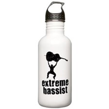 Extreme Bassist Water Bottle