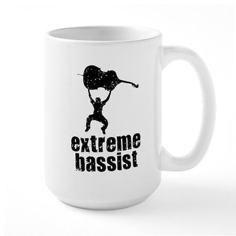 Extreme Bassist Large Mug